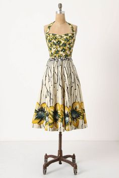 Burgeoning Hypericum dress  by Girls from Savoy at Anthropologie....to splurge or not to splurge?  Kate, can I wear this to your wedding??