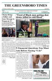 Greensboro Times April 2015 Edition