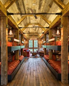 TEA2 Architects - Rustic Bunkhouse | Northern Wisconsin