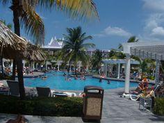 RIU Montego Bay pool area #Riu #MontegoBay #UnlimitedTrips