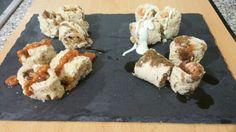 Rollitos de salmon y lomo