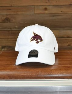 '47 Brand has always been a fan fave, and now you can rep your favorite school {TEXAS STATE!} on your favorite cap! Eat'em up, Cats!