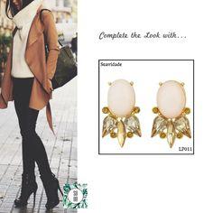 Ref: LP011 Suavidade Medidas: 3.6 cm x 2.2 cm So Oh: 7.99  #sooh_store #onlinestore #style #inspiration #styleinspiration #brincos #earrings #fashion #shoponline #aw2016 #aw1617 #winterstyle