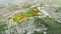 Designed by MVRDV ,Space Group in Stavanger,Norway MVRDV and Space Group are one of three teams who have been asked to submit a masterplan proposal for the Norwegian to...