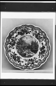 Job & John Jackson | Plate, ca. 1831–ca. 1835 | British (American market) | The Met