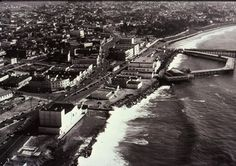 This old photo of the RB pier area shows the Fox Theater from the rear bottom left.