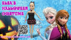 Rainbow Loom Halloween Dress for Elsa/Barbie - Loom Bands Tutorial by Elegant Fashion 360.