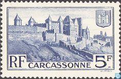 Timbres-poste - France [FRA] - Carcassonne - remparts