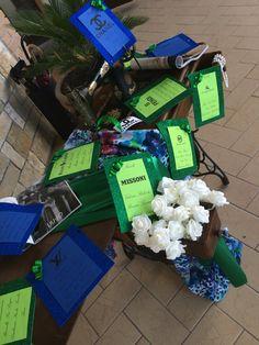 Birthday Tableau de mariage glamour 18 anni verde e blu #scenografiediserena #solocosebelle