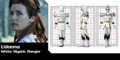 Full Name: Unknown Ranger Designation: White Mystic Ranger Mystic Power: The ability to control snow and ice. Power Rangers Morph, Power Rangers Cast, Power Rangers Mystic Force, Power Rangers Dino, Dark Spells, Power Rengers, Wolf Warriors, Rangers Team, Live Action Film