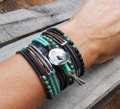 Wrap bracelet design