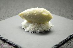 Rezept und Anleitung für eine Ganache aus Kokosmilch, weißer Kuvertüre und…