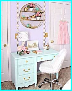 Kids Bedroom Furniture, Diy Bedroom Decor, Painted Furniture, Bedroom Red, Furniture Sets, Furniture Stores, Bedroom Storage, Girls Bedroom Purple, Modern Furniture