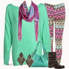 Aztec Street Style for womens 2014