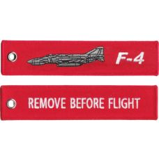 F-4 Phantom II Remove Before Flight keychain  made from a very durable  polyester e160f24541