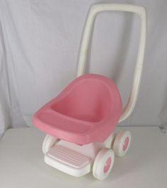 Vintage Little Tikes Pink Child S Doll Stroller Wish