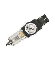 Manómetro con filtro antihumedad para compresores.