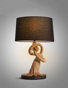 Im Europäischen Stil Retro Tischleuchte Land Art Dekoratives Licht  Schlafzimmer Nachttischlampe: Amazon.de