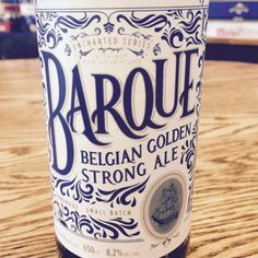 Lighthouse brewing quality handcrafted beer - Barque a Belgian Golden Strong Ale. The taste is rich, sweet, and juicy with some malty candy and a welcoming bitterness into the finish #handcrafted #beers #barque #brewery