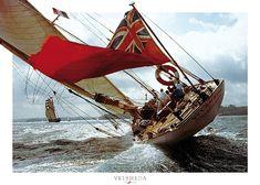 Le Class J Velsheda - classic yacht