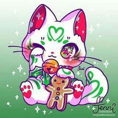 Chibi Kawaii, Chibi Cat, Kawaii Doodles, Kawaii Cat, Cute Kawaii Animals, Cute Animal Drawings Kawaii, Cute Drawings, Kitten Drawing, Cute Cat Drawing
