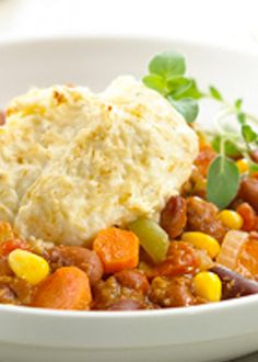 Vegetarian Shepard's Pie… sure to be a family favorite!