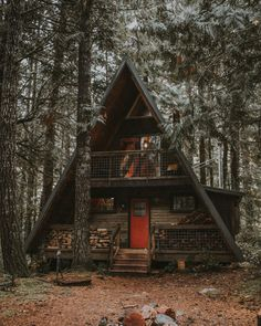 small frame house best a frame house kits ideas on a frame cabin a small frame house a frame homes prefab house plans timber frame home plans wisconsin Tiny House Cabin, Cabin Homes, Log Homes, Tiny Homes, A Frame Cabin, A Frame House, Ideas Cabaña, Haus Am See, Cabin In The Woods