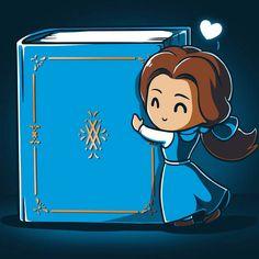 Belle Loves Reading T-Shirt Disney TeeTurtle Official Disney Princesses, Disney Princess Characters, Princess Art, Cute Disney Drawings, Cute Drawings, Disney Dream, Disney Love, Disney Tees, Disney Pixar