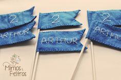 Bandeirinhas do Aniversário do Arthur