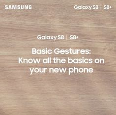 What basic gestures can you do with your new #GalaxyS8PH? Know how to work your way around your phone with this video tutorial. Get yours now at https://spr.ly/GalaxyS8PHFB. #UnboxYourPhone