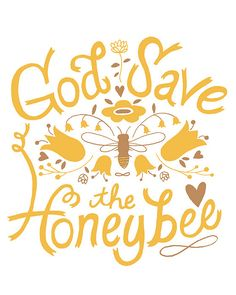 God Save the Honey Bee by This Paper Ship (They really are very important to us.)