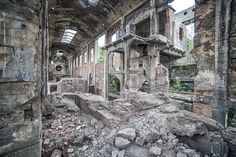Anna Mika - The Beauty Of Abandoned Places Before Nature Reclaims Them Forever