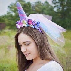 Unicorn+Crown+Headband+