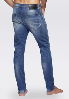 Duran Jeans Fredo, carrot stretch, with five pockets
