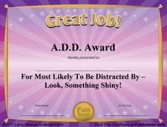 free funny award certificates templates | Sample Funny Award Certificates: 101 in All PLUS 6 Award Templates!