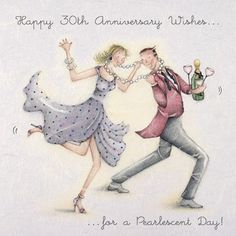 30th Anniversary Wishes by Berny Parker