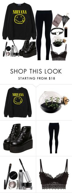 """""""living that rock star life"""" by pearlrauch ❤ liked on Polyvore featuring Chicnova Fashion, Esque Studio, NIKE, Bobbi Brown Cosmetics, Agent Provocateur, GAS Jeans, women's clothing, women, female and woman"""