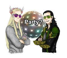 Loki and Thranduil