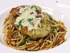 Chicken Parmesan Recipe : Robert Irvine : Food Network - FoodNetwork.com
