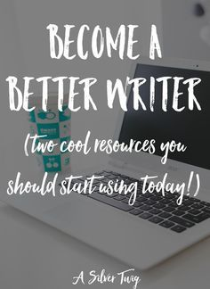 Become A Better Writer Tips and resources for becoming a better writer. Click through to check out these 2 resources. Writing Quotes, Fiction Writing, Writing Advice, Writing Resources, Writing Help, Writing Skills, Writing A Book, Writing Ideas, Improve Writing