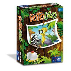 Fotoleo, állatos gyorsasági kártyajáték 5 éves kortól - Huch&Friends