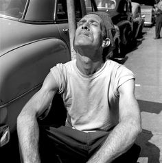 Vivian Maier  ... man in sun