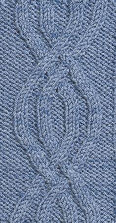 Learn the 4-Rib Symmetrical Pretzel ... Free knit pattern. #petalstopicots #petalstopicotsknit #p2pFiberArtsCommunity