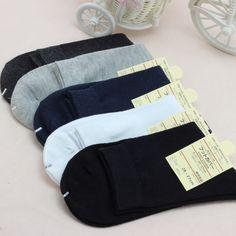 Boys Man Men's Socks Foot Wear Cotton Wholesale Meias Calcetines Elite 5pcs/Lot #Casual