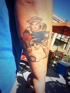 Patriots pats tats pinterest patriots england for Does tom brady have a tattoo