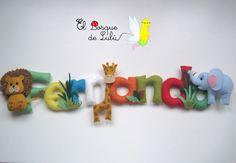 Nombre en fieltro - Fernando-elbosquedelulu-hechoamanoparati