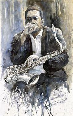 """""""Jazz Saxophonist Jo"""