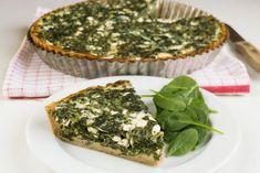 Upečte si jarní špenátový koláč ve zdravé odlehčené podobě | Vím, co jím