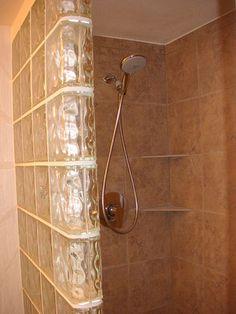 block tile for bathroom   Bathroom Glass Blocks