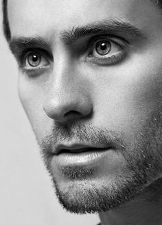 Jared Leto- his eyes. I fell in love with him as soon as 'My So Called Life' was televised in the early